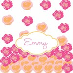 Personalize it! Rose Drops-pink