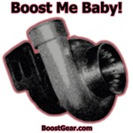 Boost Me Baby!  Red Outline