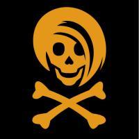 Gold Li'l Spice Girlie Skull