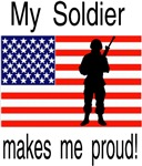 My soldier makes me proud