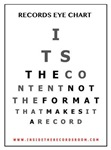 Records Eye Chart - Content