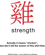 Funny Chinese Character