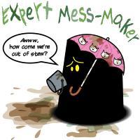 Monster in the Darkness: Expert Mess-Maker