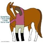 I Need Horse Time - chestnut