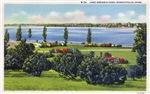 1935 View of Lake Nokomis