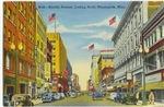 Nicollet Avenue, Minneapolis Minnesota, 1940's