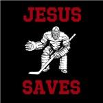 Jesus Saves - Hockey 2