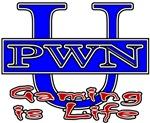 PWN U Gaming Is Life Online Gamer T-shirts/Gifts