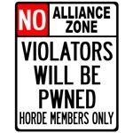 No Alliance Zone T-shirts, Merchandise & Gifts