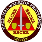 HACKA HACKA HACKA Warrior Fraternity Gamer T-shirt