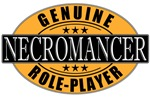 Genuine Role-Player Necromancer T-shirts & Gifts