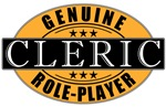 Genuine Role-player Cleric T-shirts & Gifts