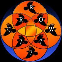 Sacred Geo Crrow777 Logo