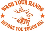 Wash Your Hands! Orange