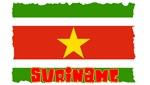 Vintage Suriname Flag