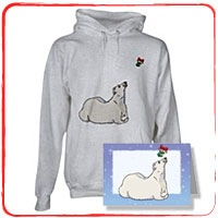 Christmas Polar Bear T-Shirts and Gifts