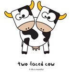 two faced cow