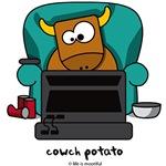 Cowch potato