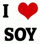 I Love SOY