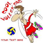 PERSONALIZED VOLLEY DAD