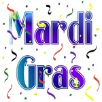 Mardi Gras With Confetti