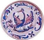 Spanish Plate Painting
