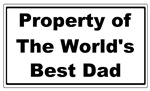 Property of the world's best dad