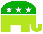 Saint Patrick's Day Conservative Elephant