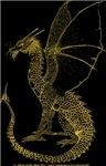 Golden Watcher Dragon