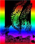 Rainbow Diamond Pegasus