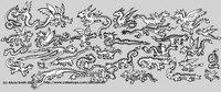 Lots O' Dragons Monochrome
