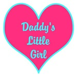 Daddy's Little Girl Teal Pink