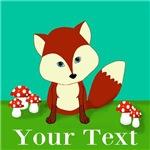 Personalizable Woodland Fox