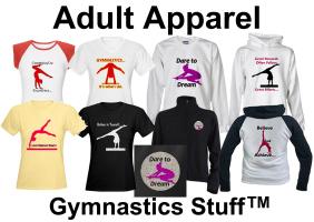 Gymnastics Apparel: T-shirts, Hoodies, Tanks, etc.