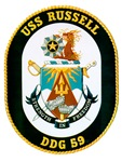 USS Russell DDG-59 Navy Ship