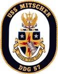 USS Mitscher DDG-57 Navy Ship