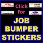 NURSE BUMPER STICKERS