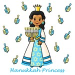 Hanukkah Princess (Dark Skin)