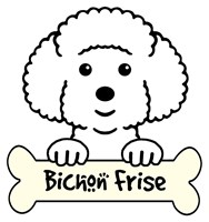 Personalized Bichon Frise