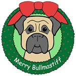 Bullmastiff Christmas Ornaments