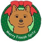 Finnish Spitz Christmas Ornaments