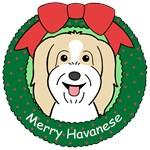 Havanese Christmas Ornaments