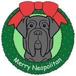Neopolitan Mastiff Christmas Ornaments