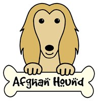 Personalized Afghan Hound