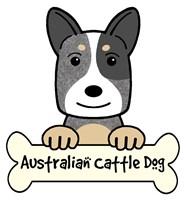 Personalized Australian Cattle Dog