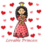 Lovable Princess (Black Hair)