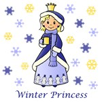 Winter Princess (Blonde Hair)