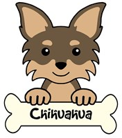 Personalized Chihuahua (Long Hair)