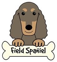 Personalized Field Spaniel
