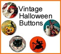 Vintage Halloween Buttons